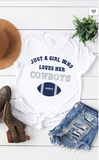 Cowboys Graphic Tee