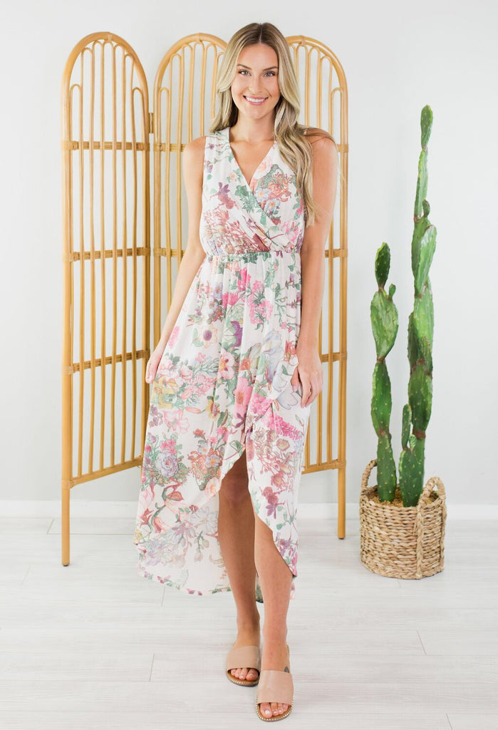 Cruise Floral Maxi Dress