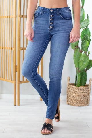 Fall Breeze Black Denim Jeans