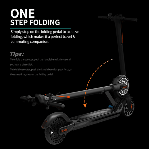 Hiboy MAX V2 Foldable Lightweight Adult Electric Scooter