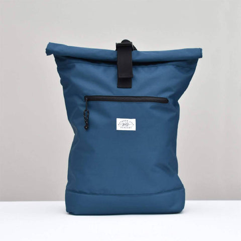 recycled backpack by wolfe academy