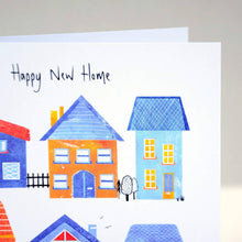 Load image into Gallery viewer, Happy New Home Houses Card