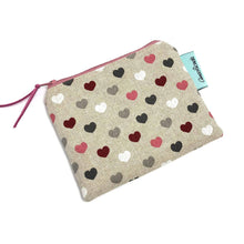 Load image into Gallery viewer, Purse, Coin purse, Heart print