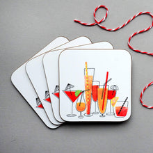 Load image into Gallery viewer, Cocktails Coasters for Her