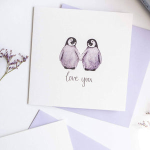 Adorable animals in love cards - choose your animal!