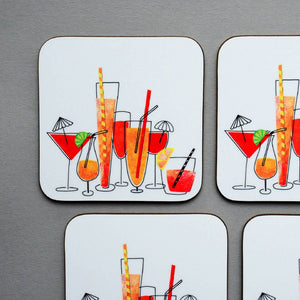 Cocktails Coasters for Her