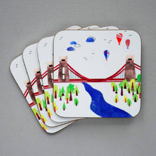 Load image into Gallery viewer, Bristol Suspension Bridge Art Print, A4
