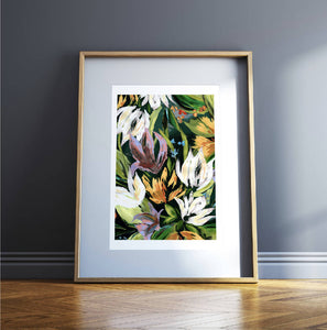 Floral Bouquet Limited Edition Giclée Print
