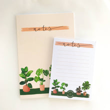 Load image into Gallery viewer, A6 House Plants Notepad