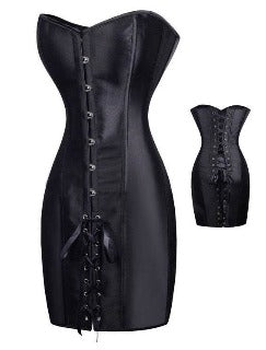 Leather Corset Dress