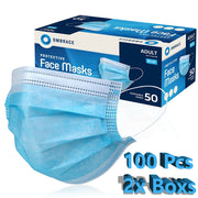 100 PCS Face Mask Mouth & Nose Protector Respirator Masks with Filter USA Seller - ZellaMall