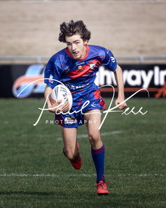Get this great shot of Kangaroos' Reserve Grade winger Nick Jones attacking out wide in the game against Southcity ...