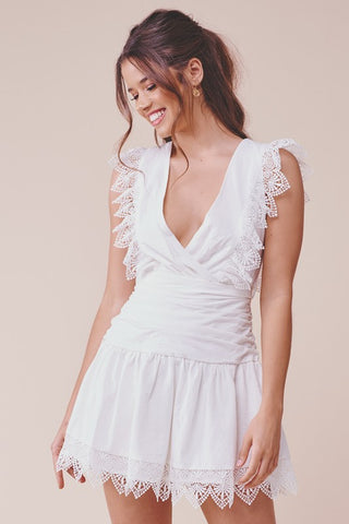 Under The Eiffel Dress (White)