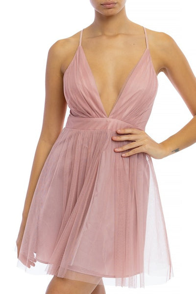Love Spell Blush Dress