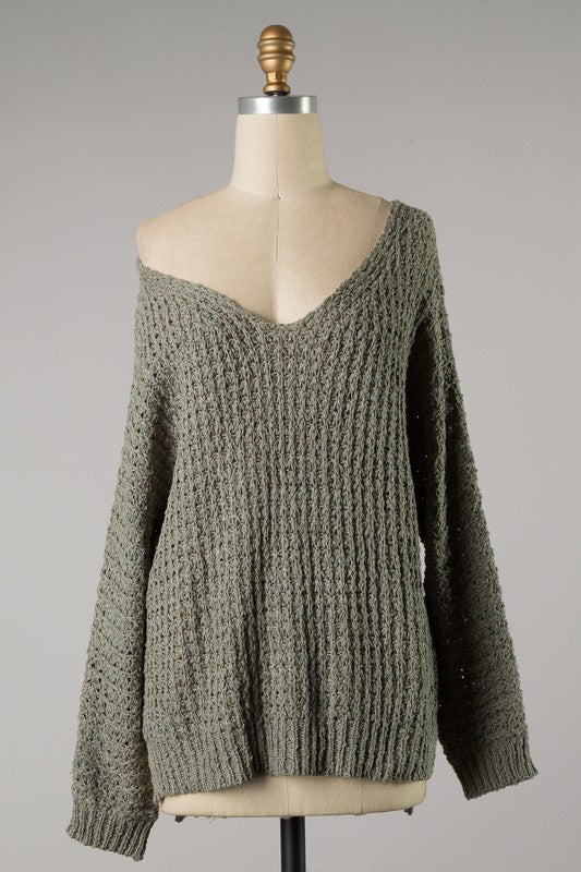Easy Love Sweater (Green)