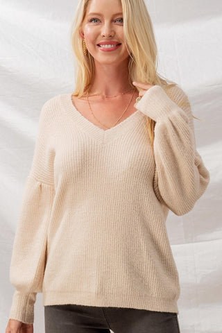 Promise Me Forever Sweater (Cream)