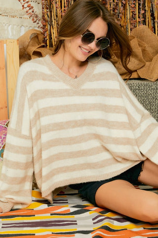Happy Days Sweater (Cream)