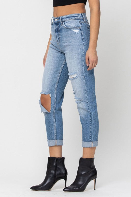 Roll With It Cuffed Jeans