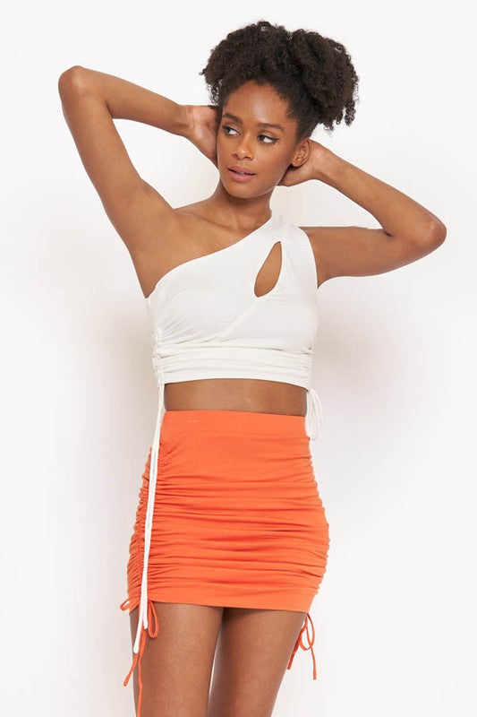 Love Affair Skirt (Orange)
