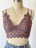 Koko Bralette (Dusty Purple)