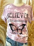 Believer Butterfly Tee