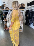 Open Road Maxi Dress (Mustard)