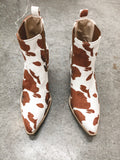 Austin Booties (Brown Cow)
