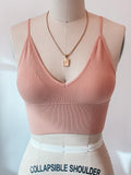 Pillow Talk Bralette (Dusty Coral)