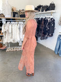 Open Road Maxi Dress (French Rose)