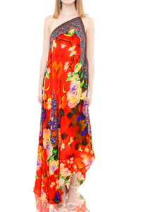 Long Red Maxi Dress- CP