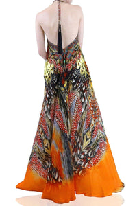 Maxi-Dress-3-Ways-To-Wear-Long-Dress-Orange