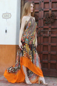 Printed-Maxi-Dress-3-Ways-To-Wea