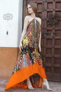 Printed-Maxi-Dress-3-Ways-To-Wear-Long-Dresses