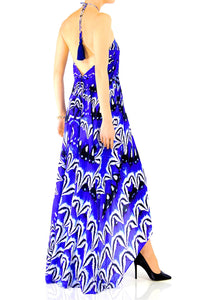 Multiway Blue Maxi Dress