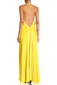 Solid-Yellow-Maxi-Dress