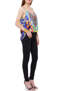 Cami Top in Abstract Print