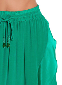 Ruffle Skirt in Green
