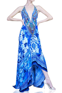 Blue Infinity Long Maxi-CHN