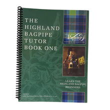 Load image into Gallery viewer, College of Piping Tutor Book 1 - Bagpipes Galore