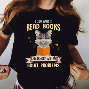 Read books to change T-Shirt 20