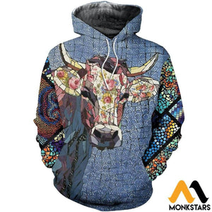 Cow Happy Farm Hoodie 23