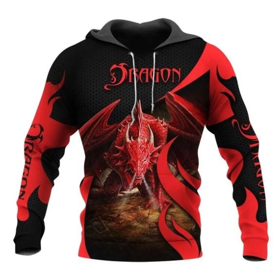 TATOO DUNGEONS AND DRAGONS ARMOR 3D HOODIE NM050959