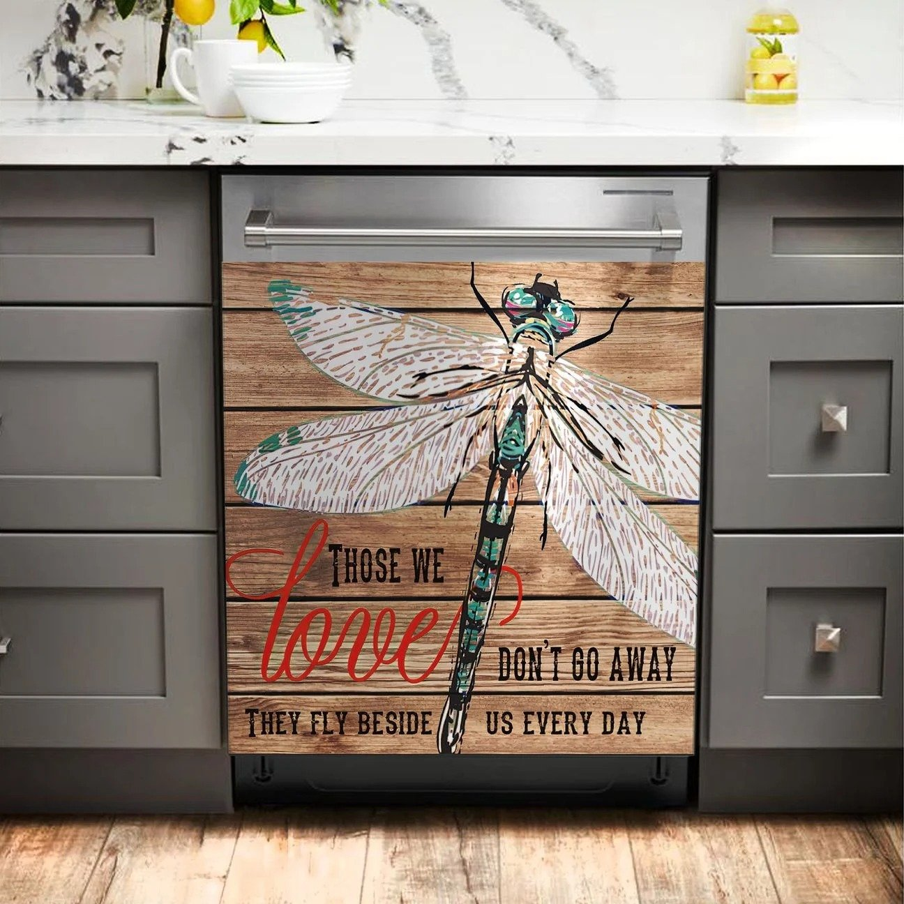 DRAGONFLY DISHWASHER COVER AZS023