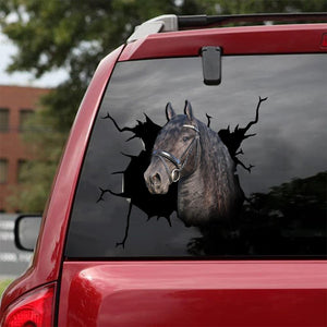 Horse Crack Car Sticker Cattle Lover (10)
