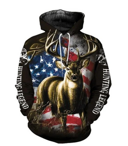 Hunting 3d All Over Printed Hoodie Shirt for Men and Women MH1212100038 TC