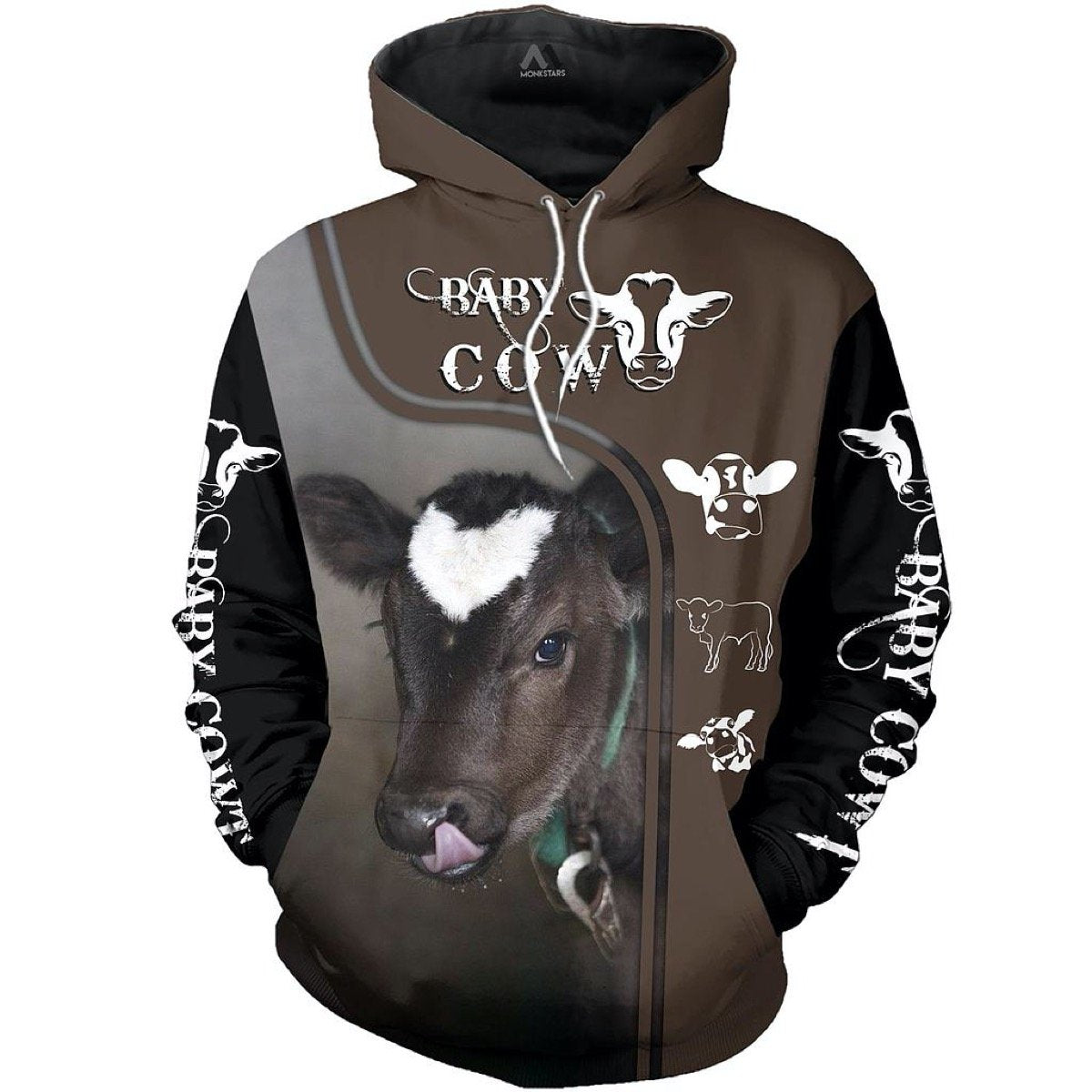 Cow Happy Farm Hoodie 16