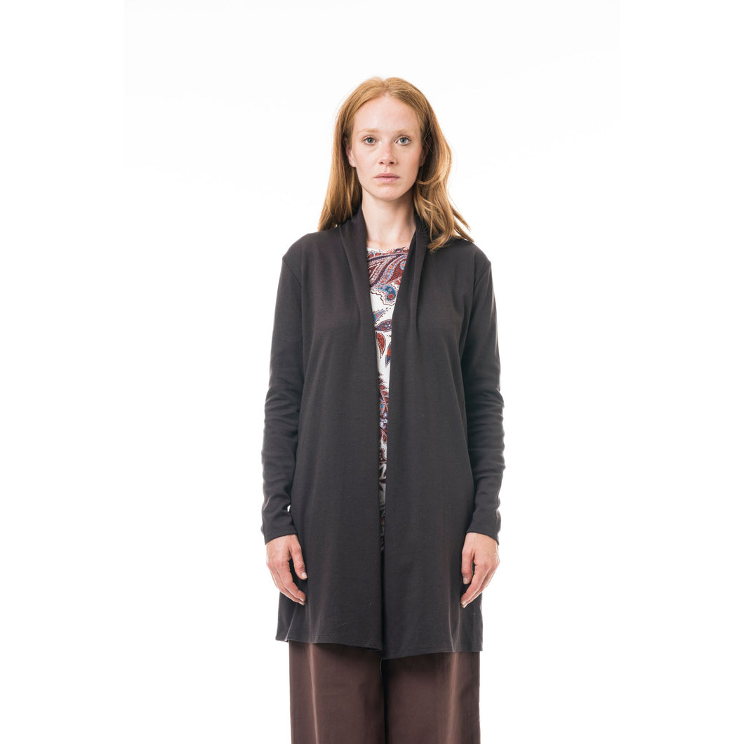 Cardigan Ursa cotone after dark