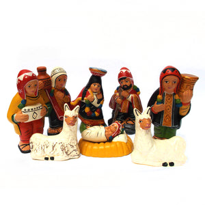 PRESEPE CUSQUENO 8_1 FIG. TERRACOTTA
