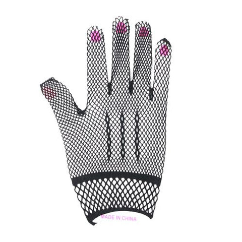 Black Mesh Gloves - Accent Fashion Accessories