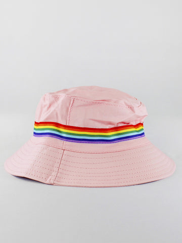 REVERSIBLE PRIDE BUCKET HAT